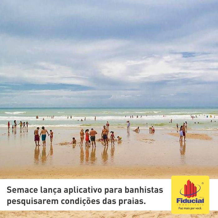 Semace lança aplicativo para banhistas pesquisarem condições das praias do Ceará