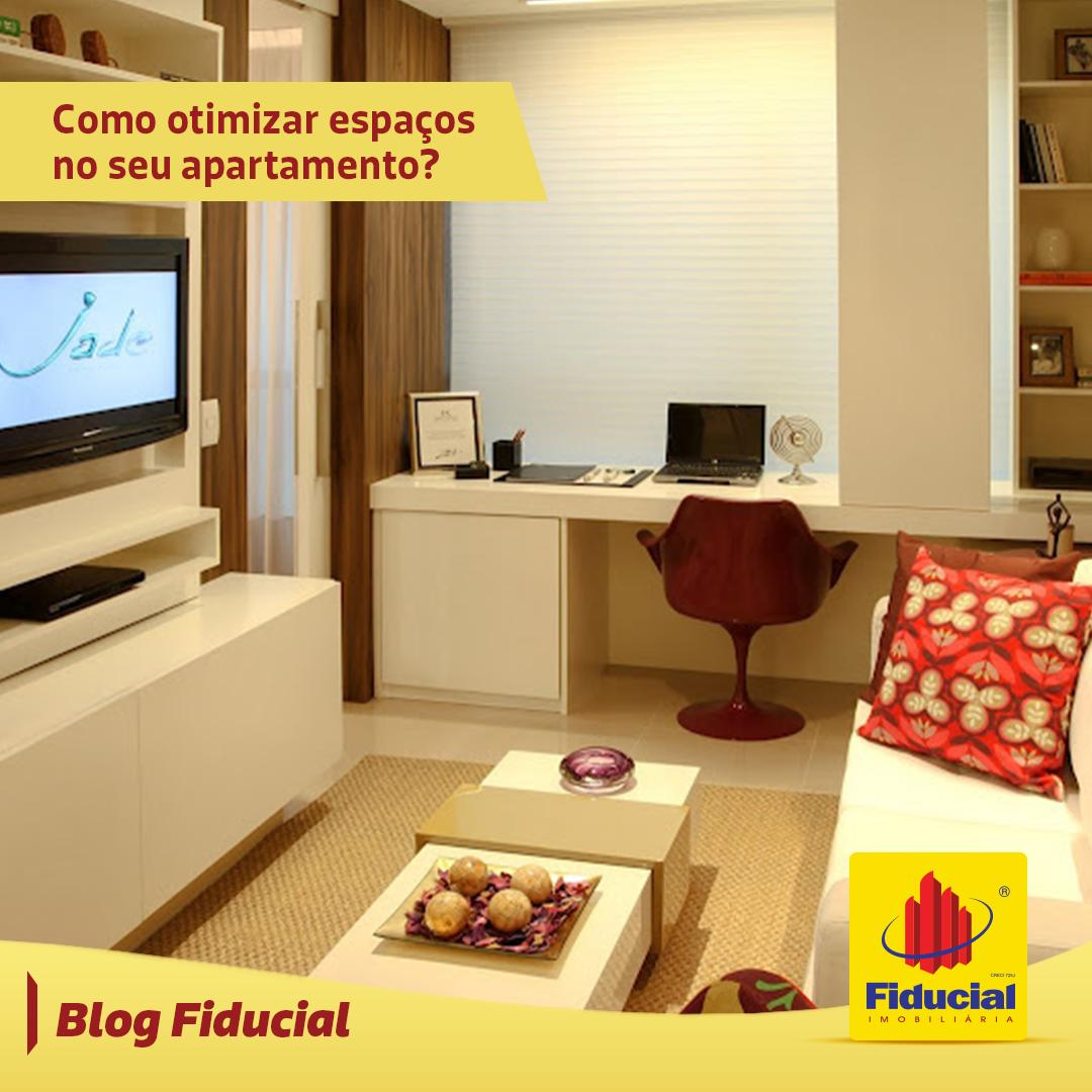 Como otimizar espaços no seu apartamento?