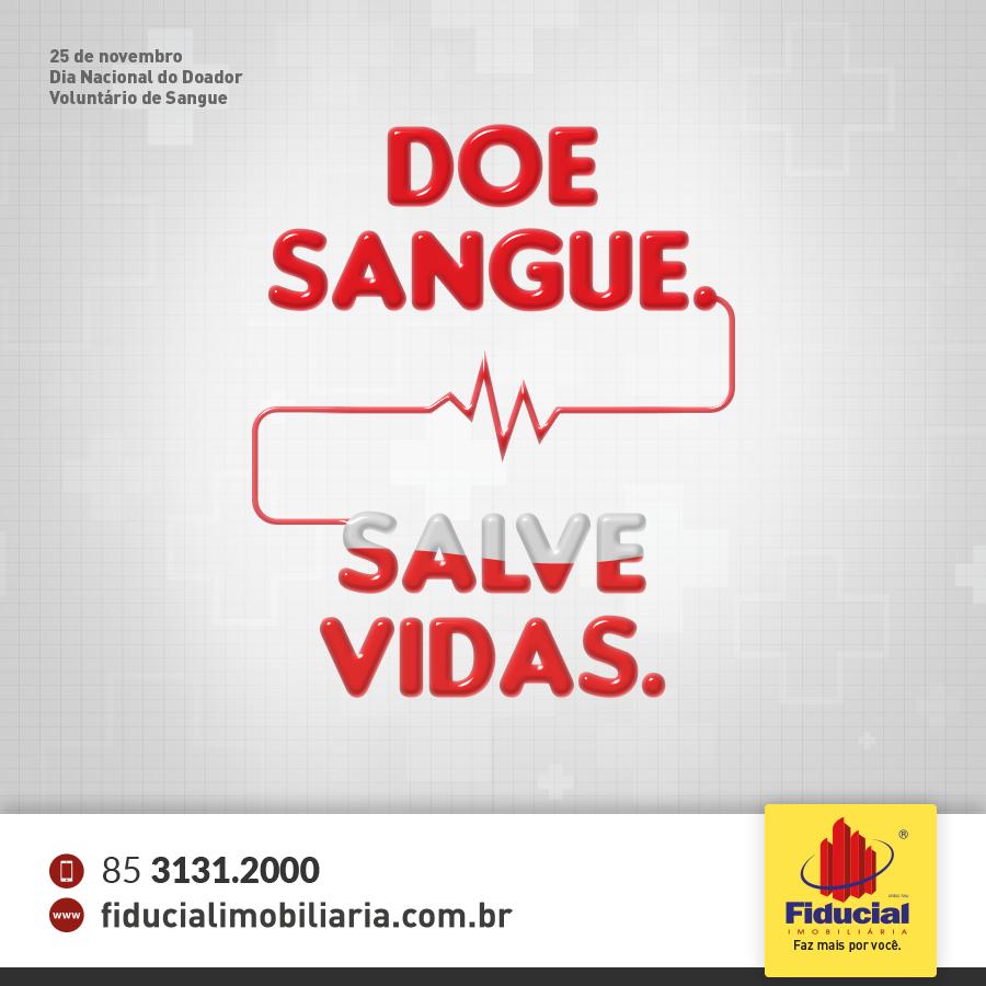 Hoje é Dia do Doador Voluntário de Sangue