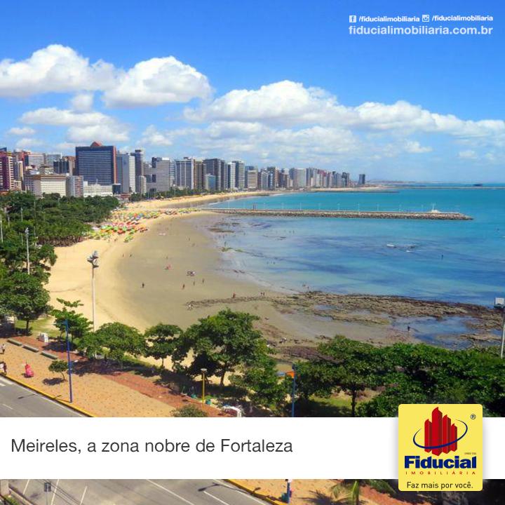 Meireles, zona nobre de Fortaleza