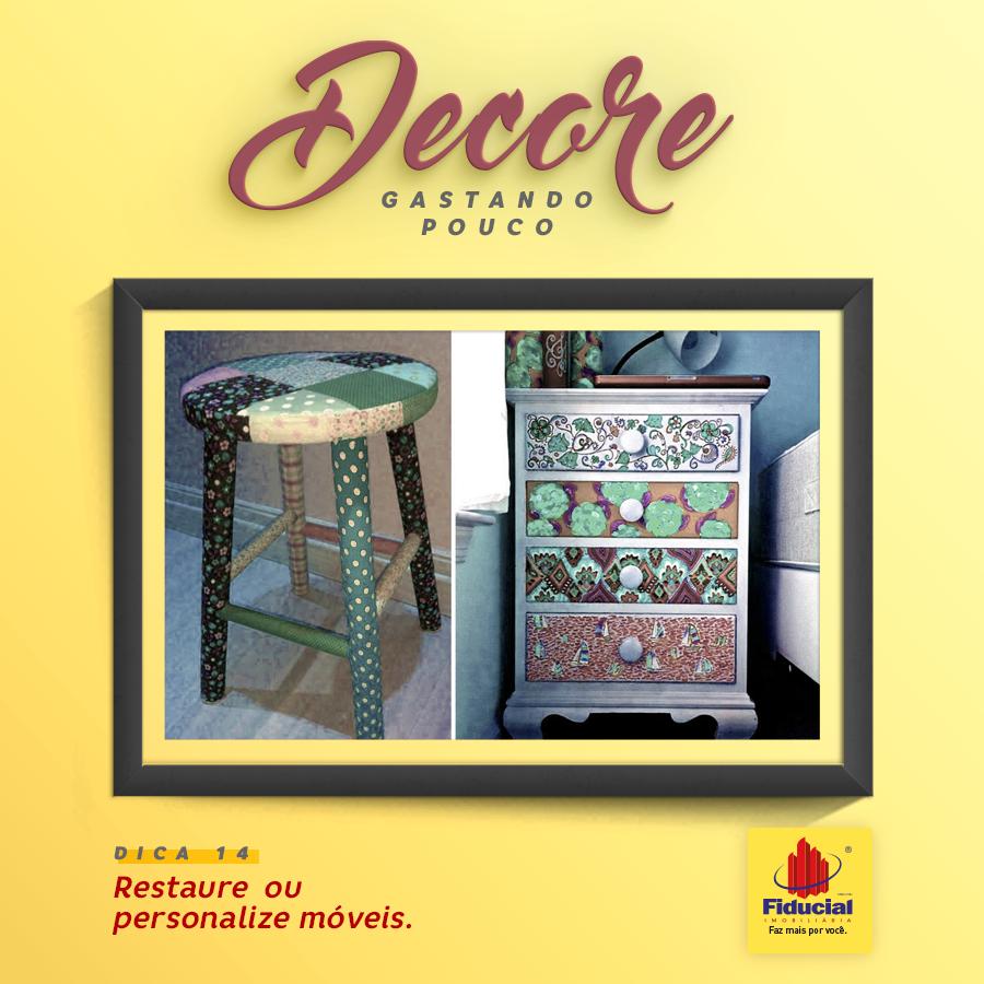 Dica de Decoração: Restaure ou personalize móveis