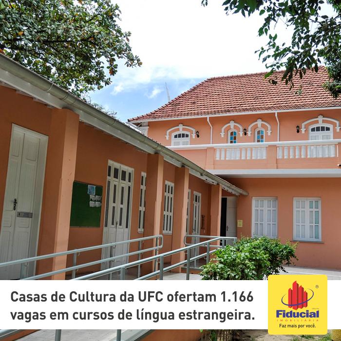 Casas de Cultura da UFC ofertam 1.166 vagas em cursos de língua estrangeira