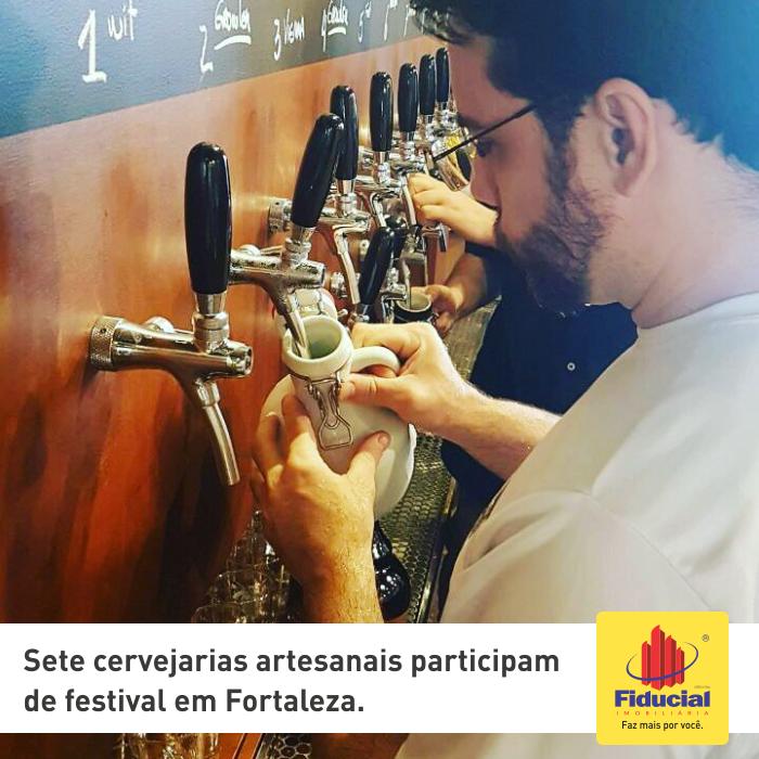Sete cervejarias artesanais participam de festival em Fortaleza
